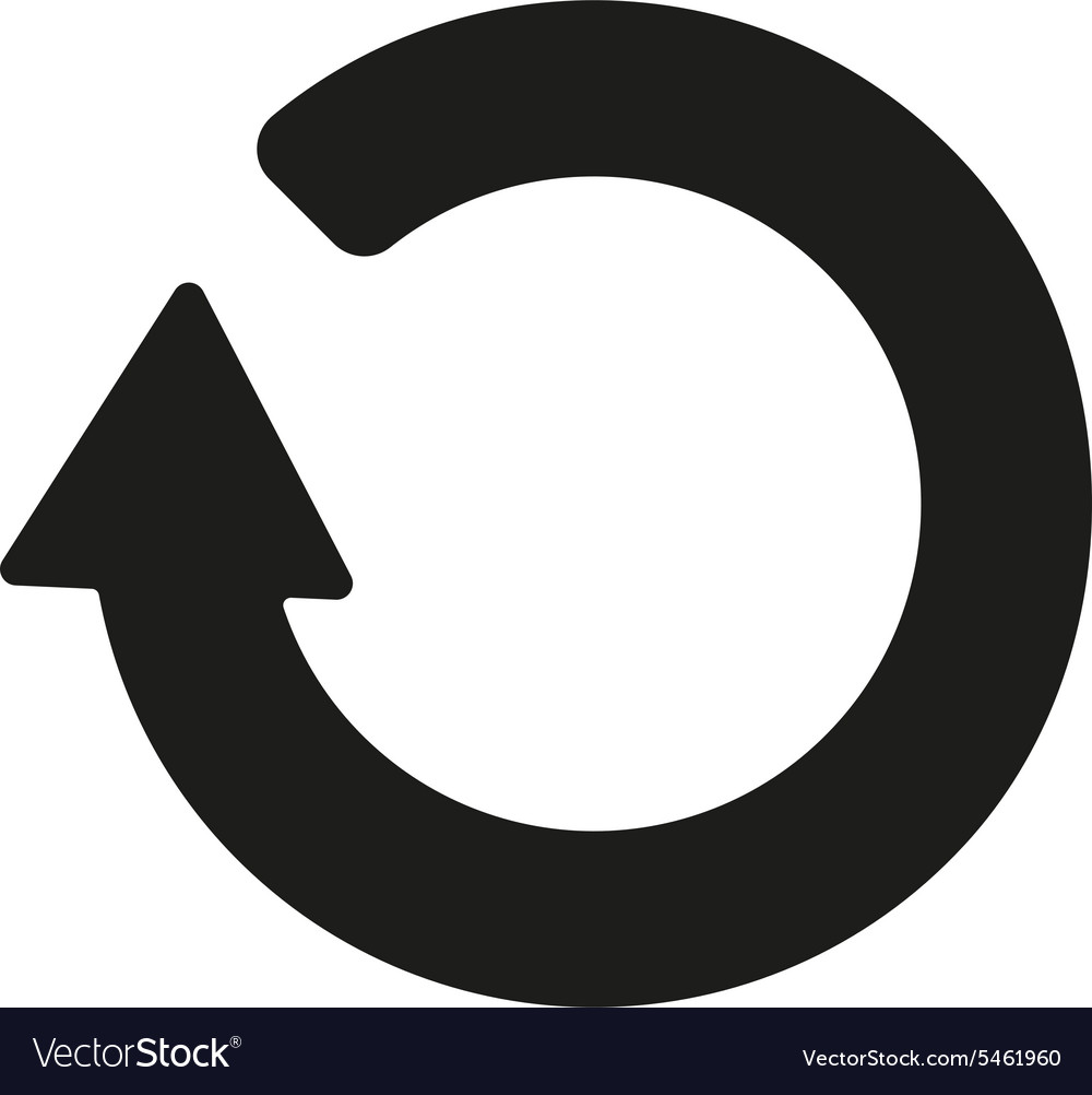 The refresh icon loading symbol flat royalty free vector the refresh icon loading symbol flat vector image biocorpaavc Image collections