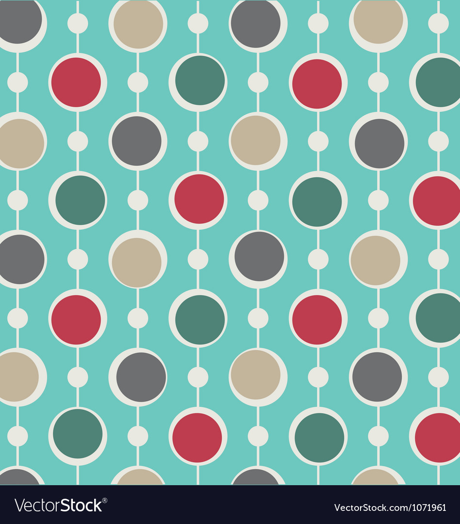 Pattern background christmas anniversary vector image
