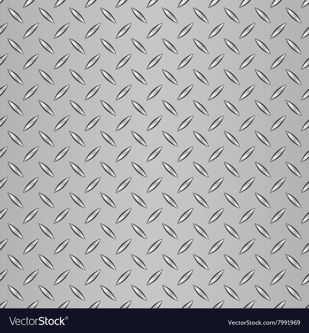 Corrugated steel background vector image