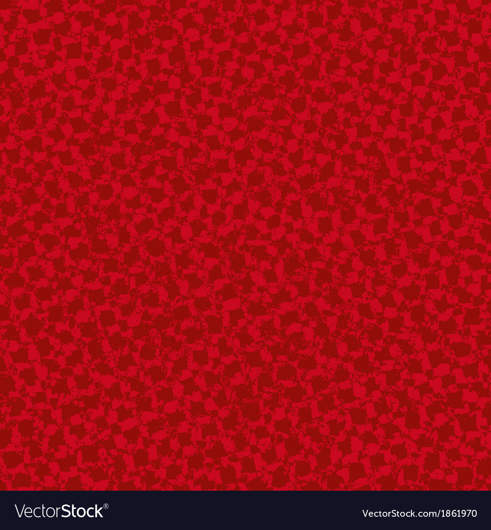 Red Squared Texture vector image