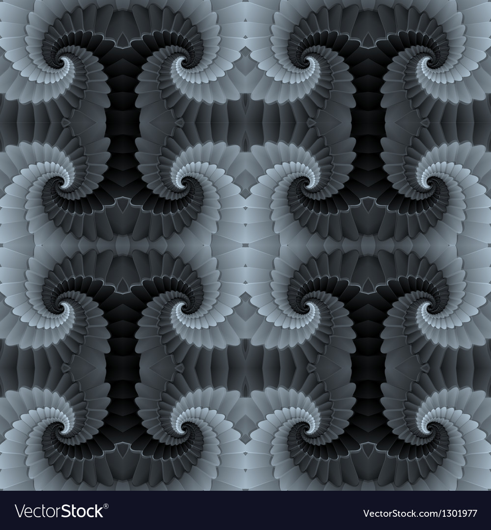 Abstract baroque seamless pattern texture vector image