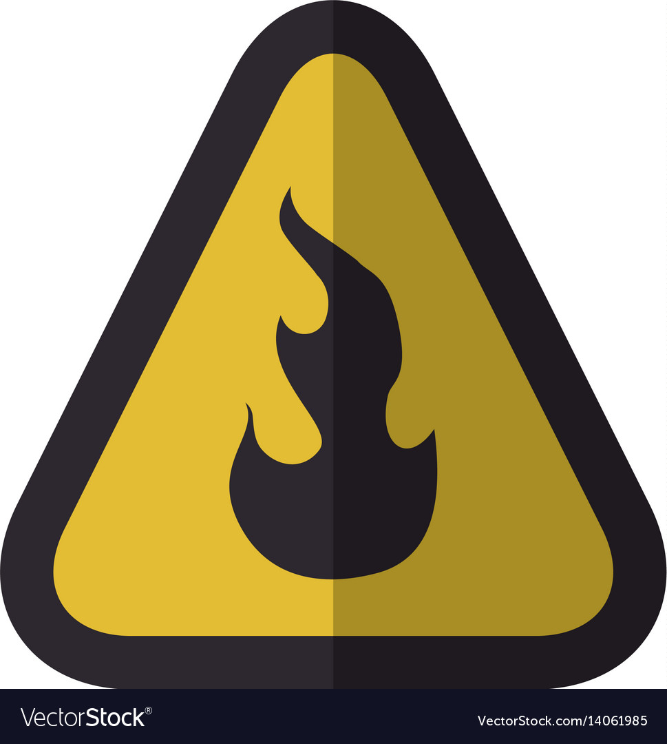 Caution flammable danger sign royalty free vector image caution flammable danger sign vector image buycottarizona