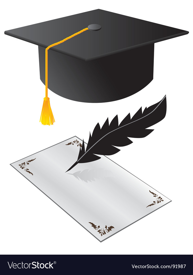 Graduation day vector image
