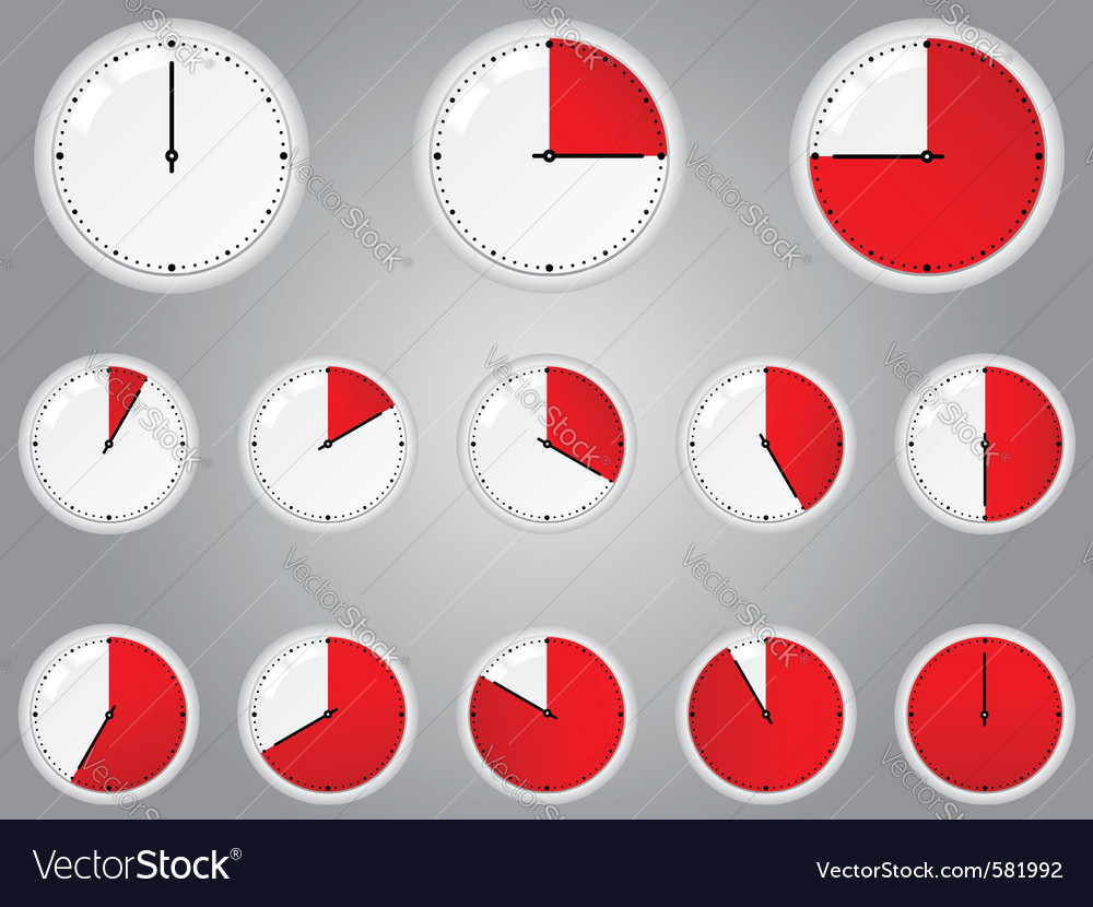 Timers vector image