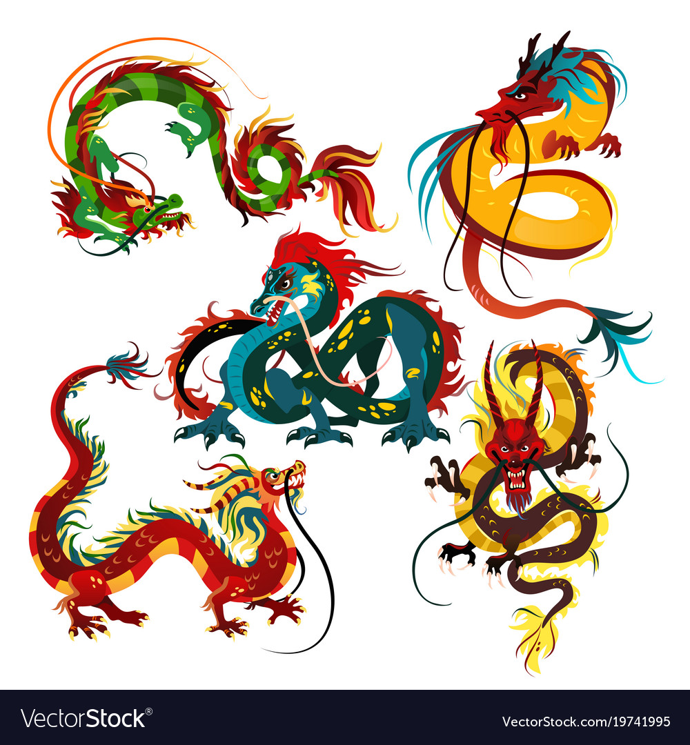 Traditional chinese dragon ancient symbol of vector image traditional chinese dragon ancient symbol of vector image biocorpaavc