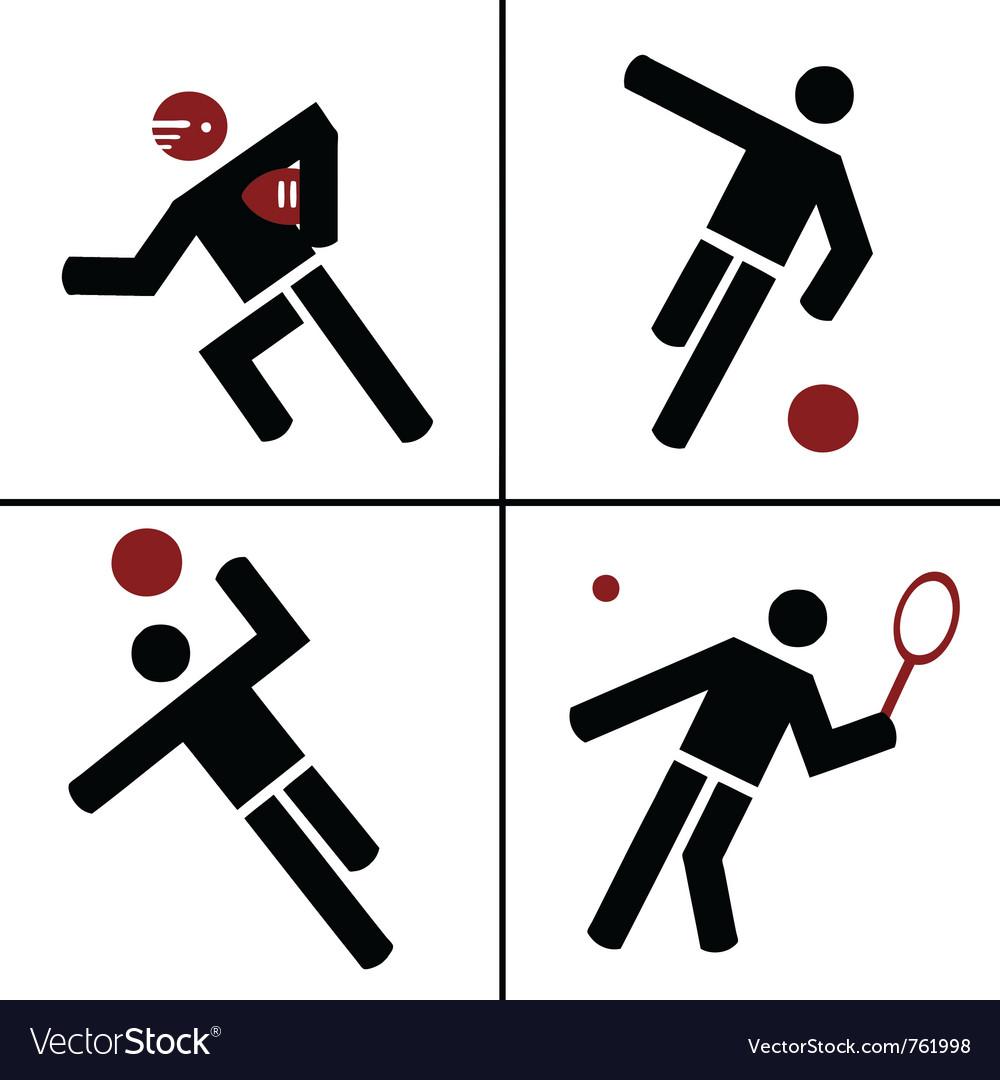 Ball sport symbols royalty free vector image vectorstock ball sport symbols vector image biocorpaavc