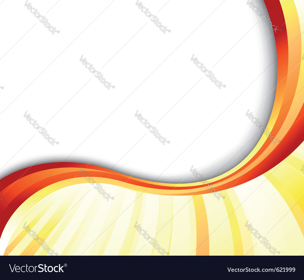 Abstract summer ray banner vector image