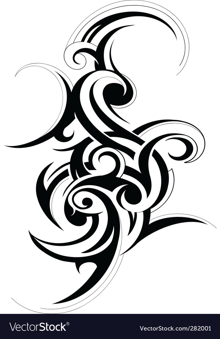 Scroll design element Vector Image