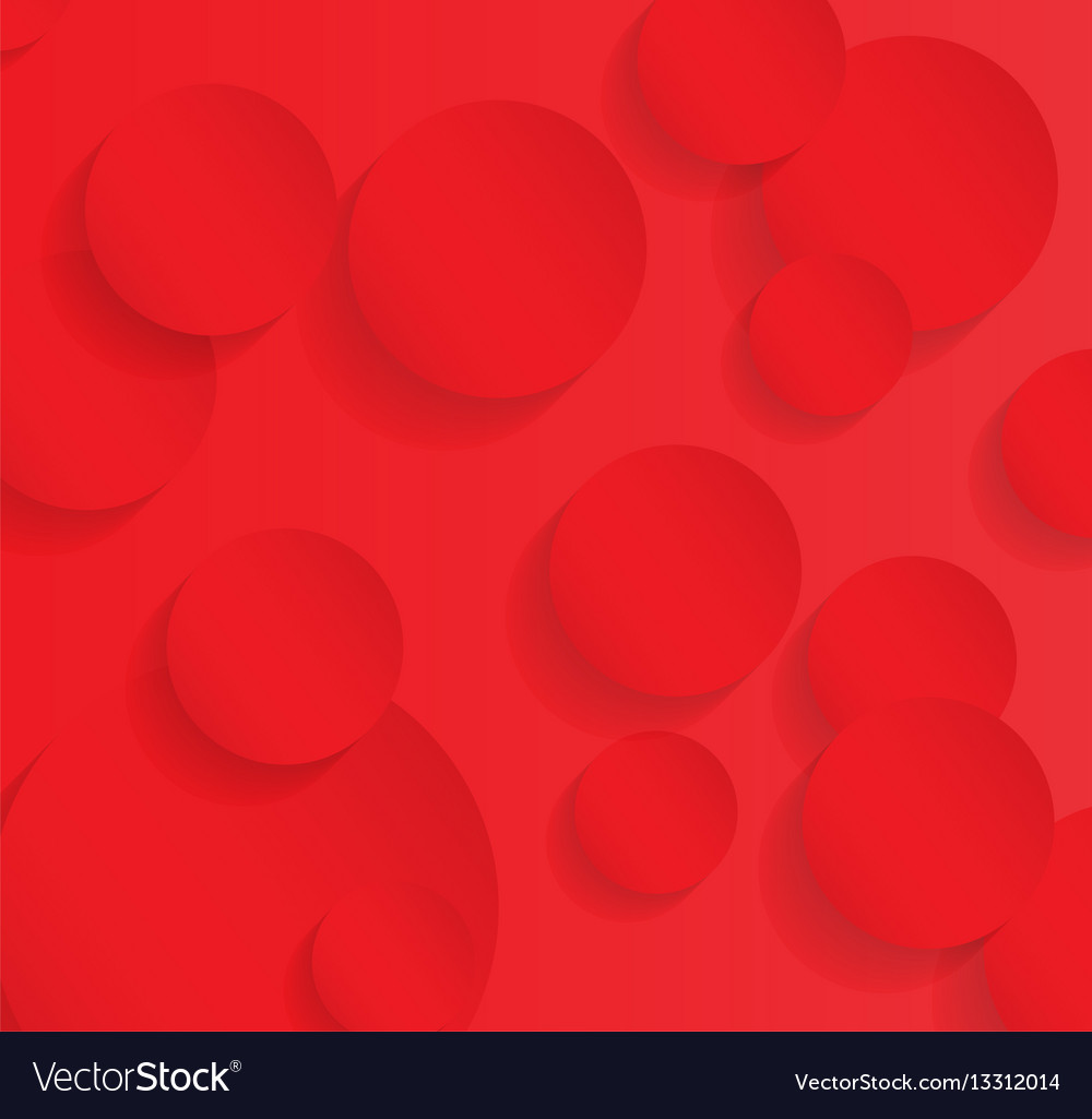 Seamless pattern circle abstract art background vector image