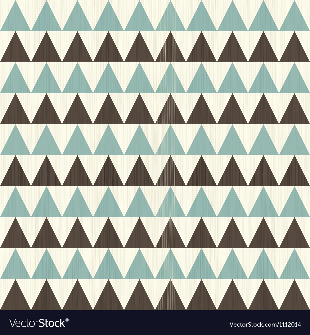 Triangular rows vector image