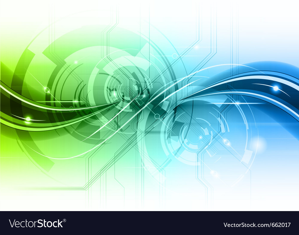 Abstract background with the wave vector image