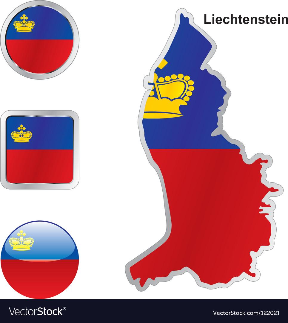Lichtenstein vector image