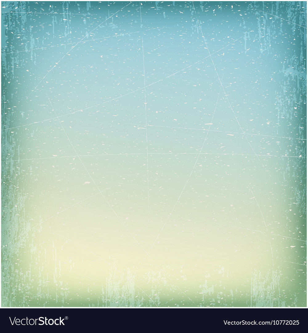 Blue and beige grungy texture with cracks and vector image