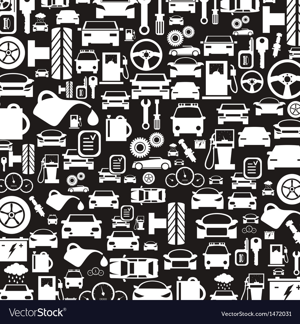 Car a background3 vector image
