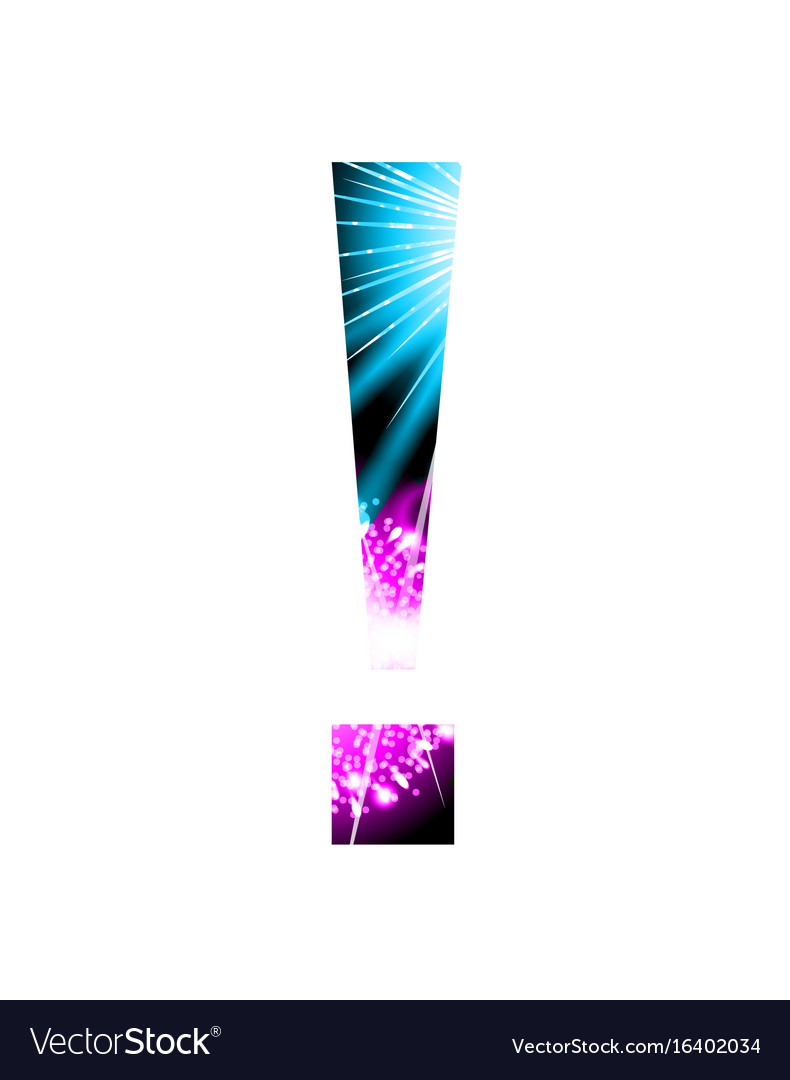 Sparkler firework symbol isolated on white vector image
