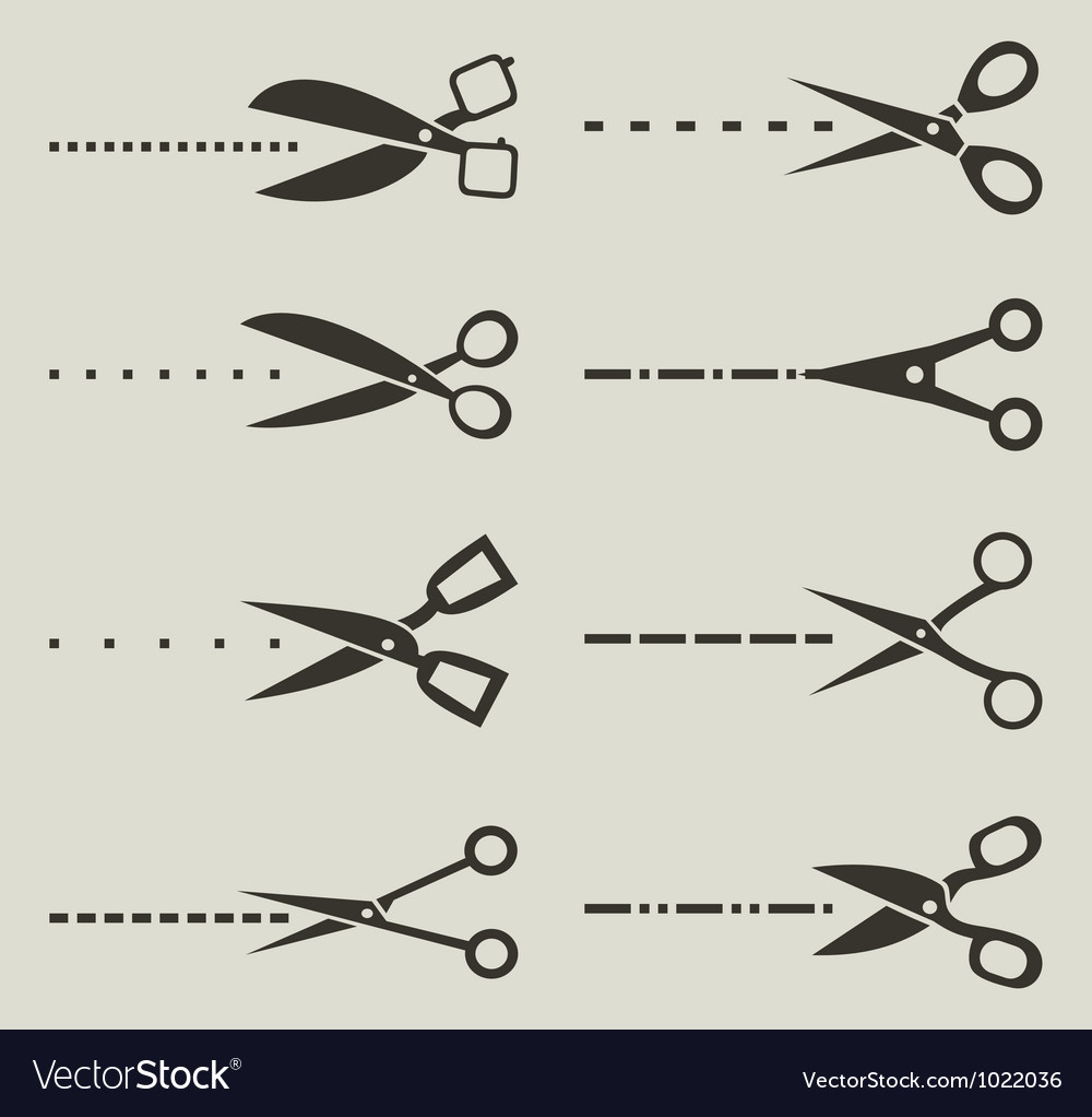 Scissors3 vector image