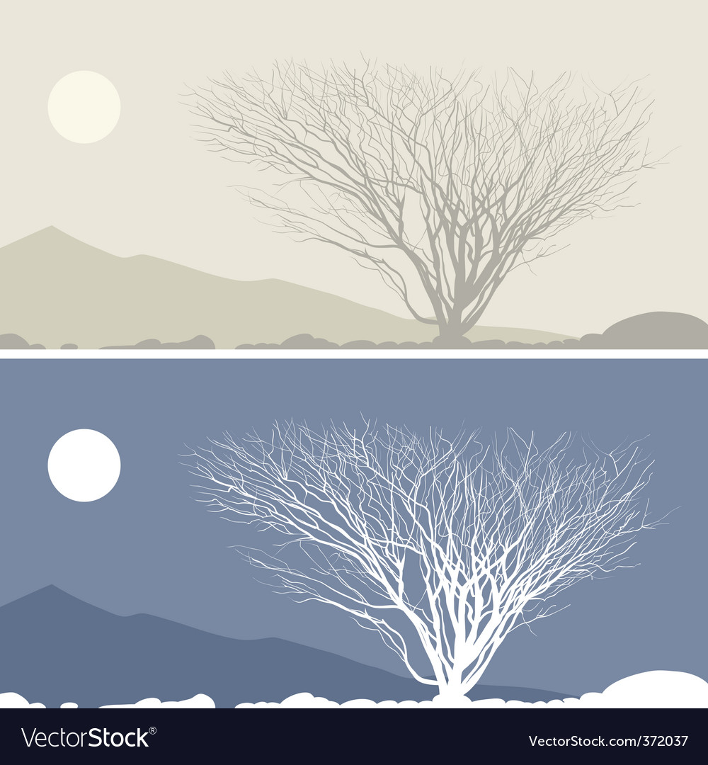 Silhouette of hill with moon scenery