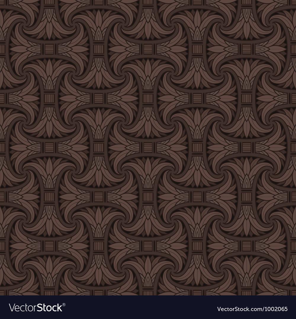 Seamless Egyptian pattern vector image
