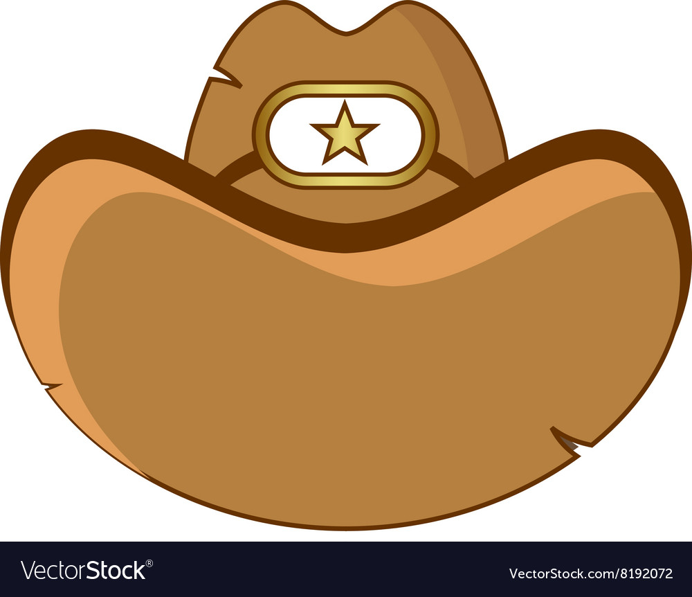 Sheriff-Hat-380x400 vector image
