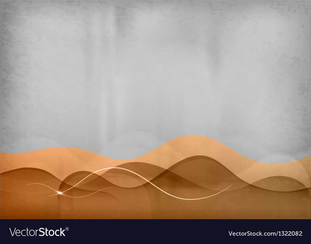 Background green purple wave vector image