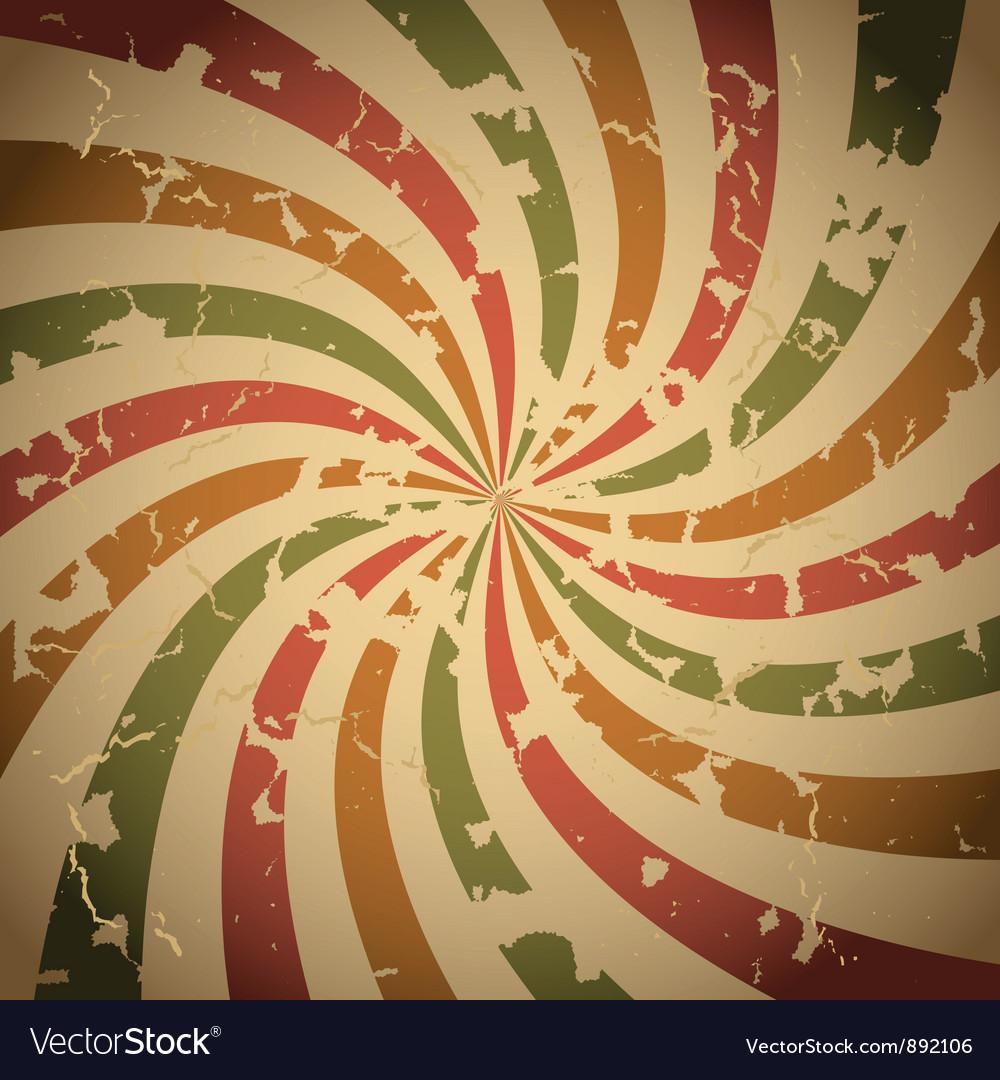 Retro grunge background vector image