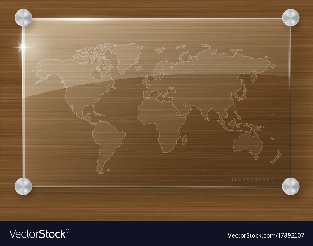 Transparent world map royalty free vector image transparent world map vector image gumiabroncs Images