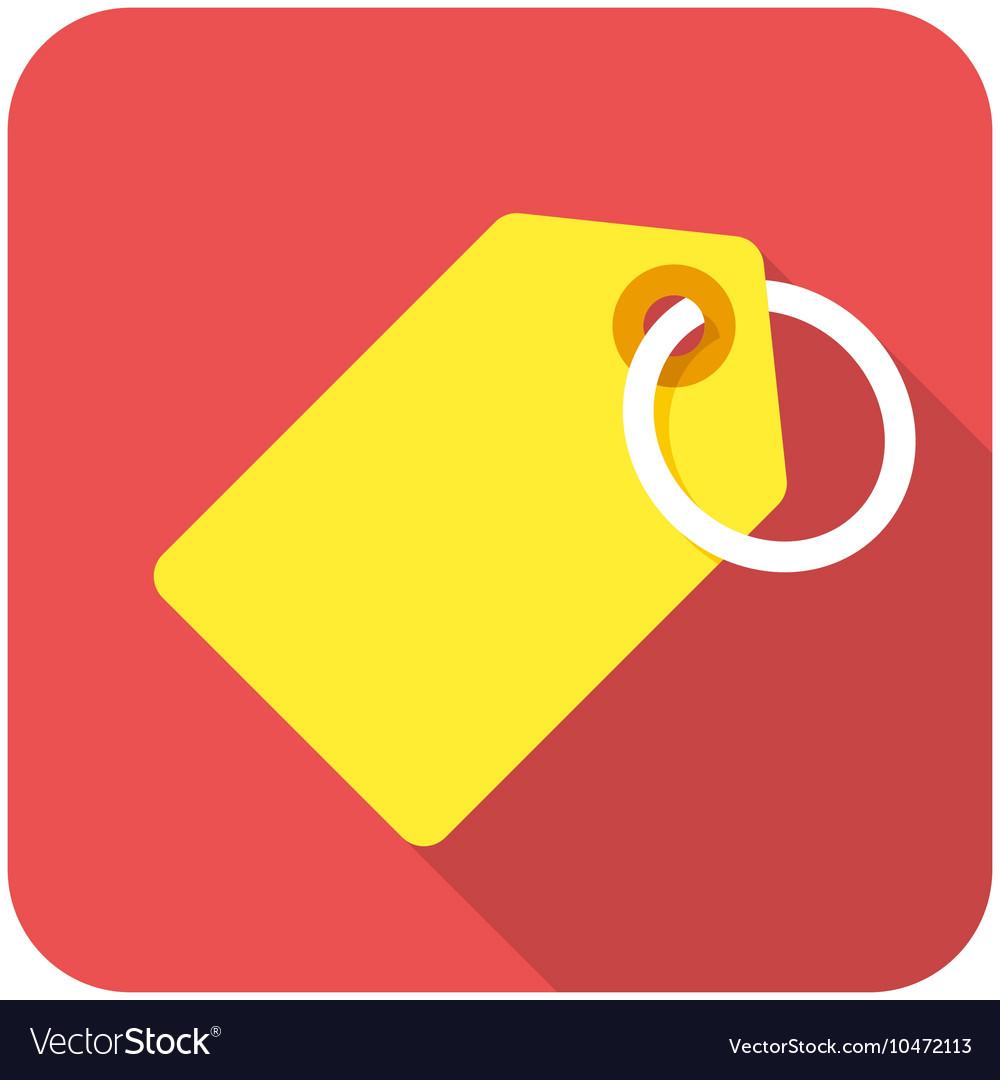 Tag icon vector image