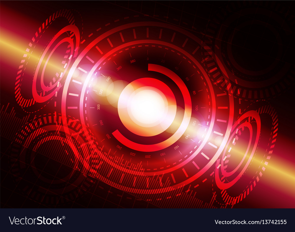 Abstract digital technology color background or vector image