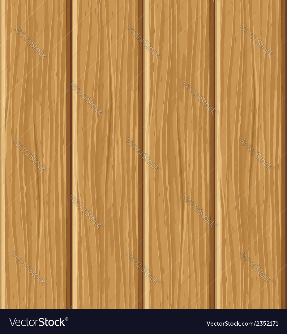 Wooden board seamless texture vector image