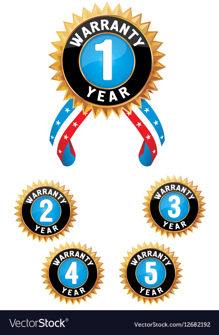Set of medal vector image