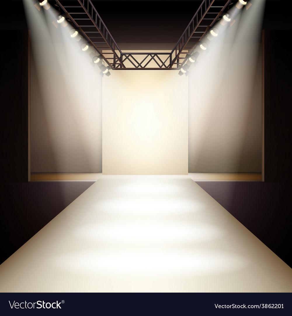 Fashion Model Runway Backgrounds