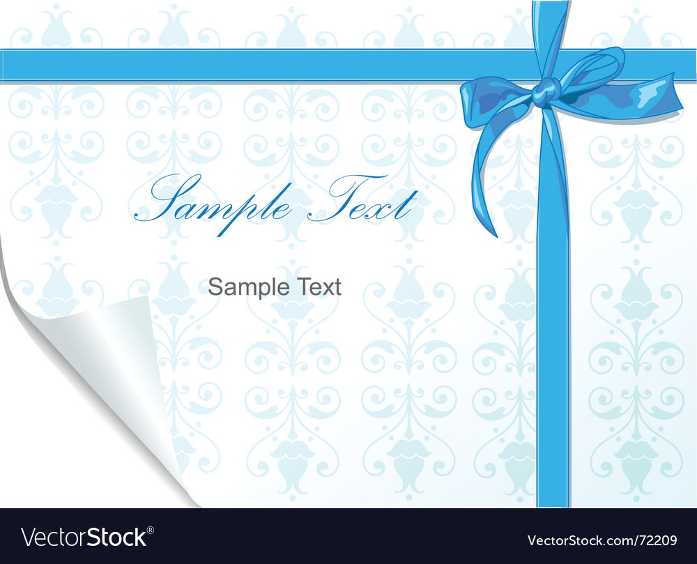 Bows and ribbons vector image