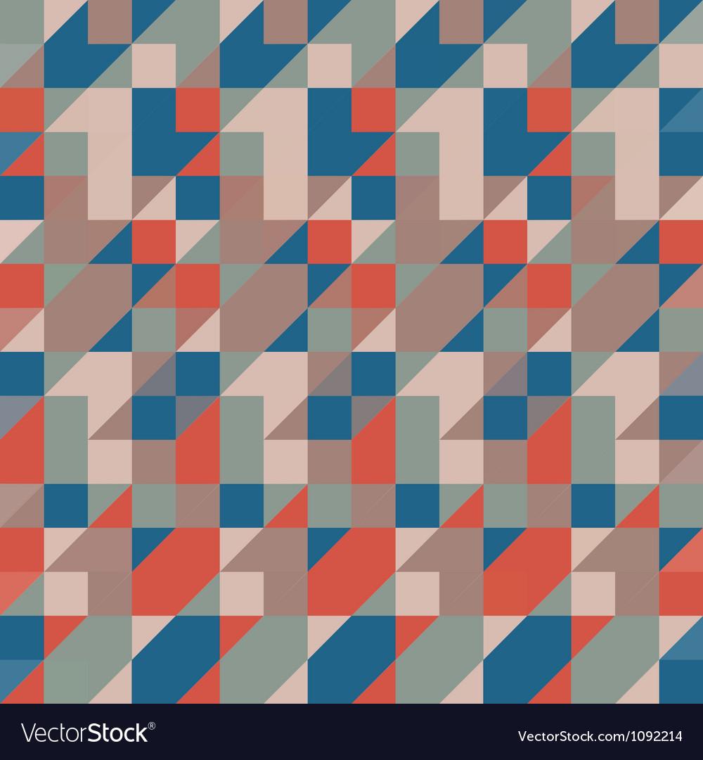 Ornate pixels vector image