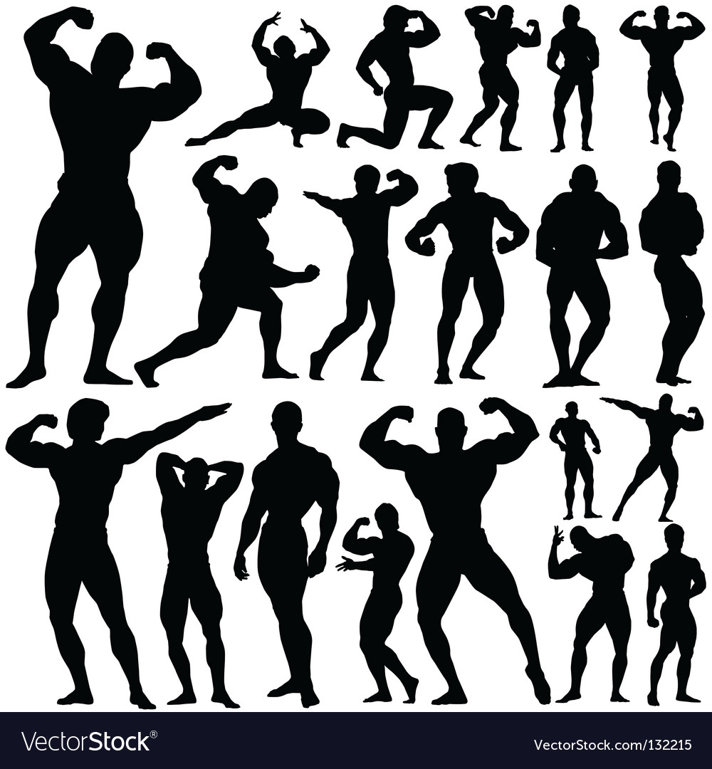 Gym fitness royalty free vector image vectorstock
