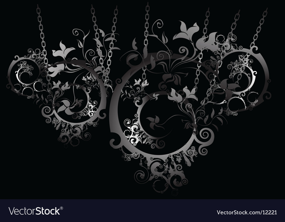 Chains graphic vector image