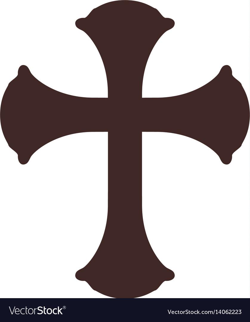 Christianity cross symbol royalty free vector image christianity cross symbol vector image biocorpaavc Gallery