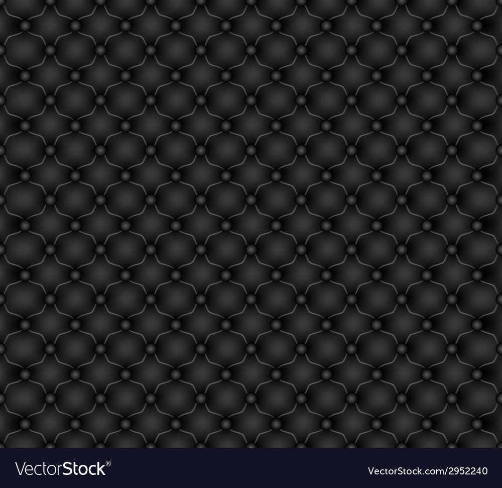 Texture leather upholstery door vector image