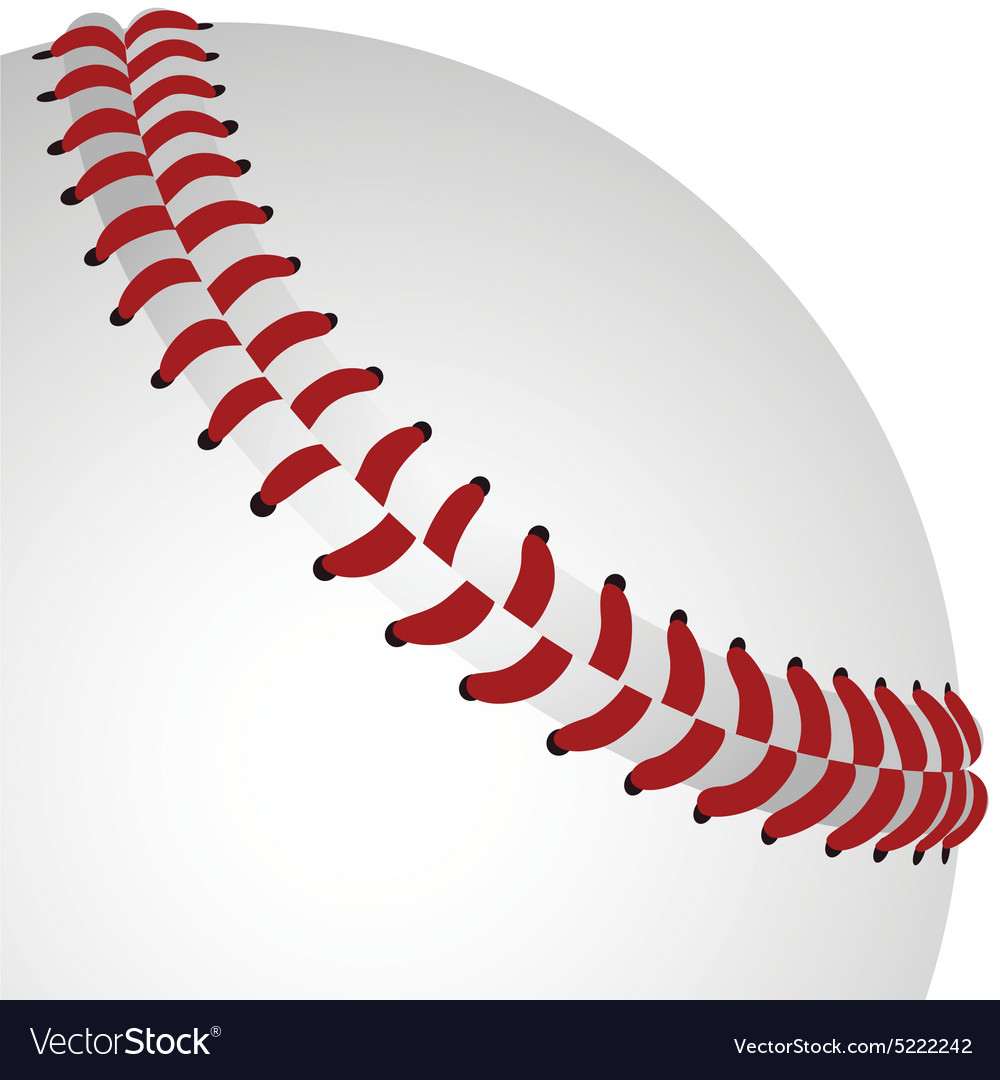 realistic baseball isolated design