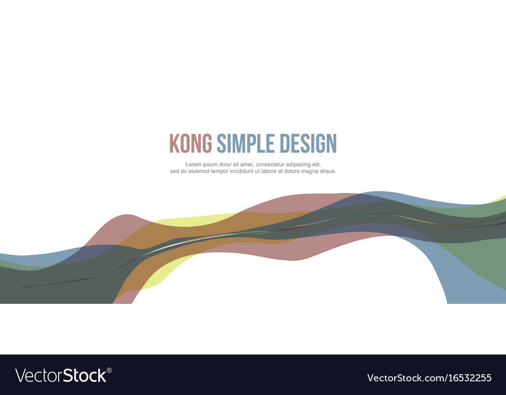 Colorful banner header website abstract collection vector image