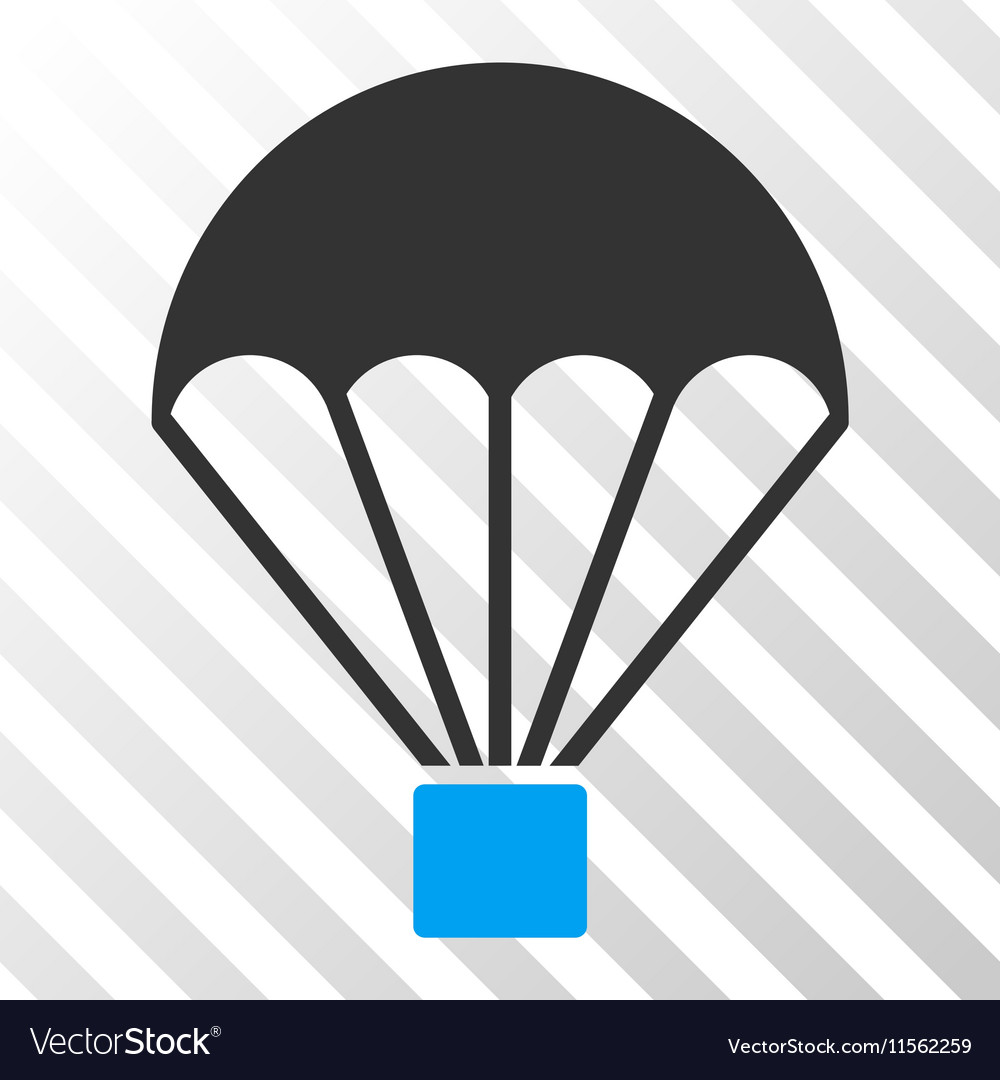 Parachute Eps Icon vector image