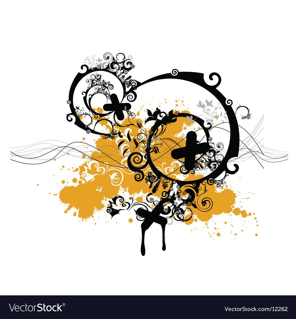 Spiral illustration vector image
