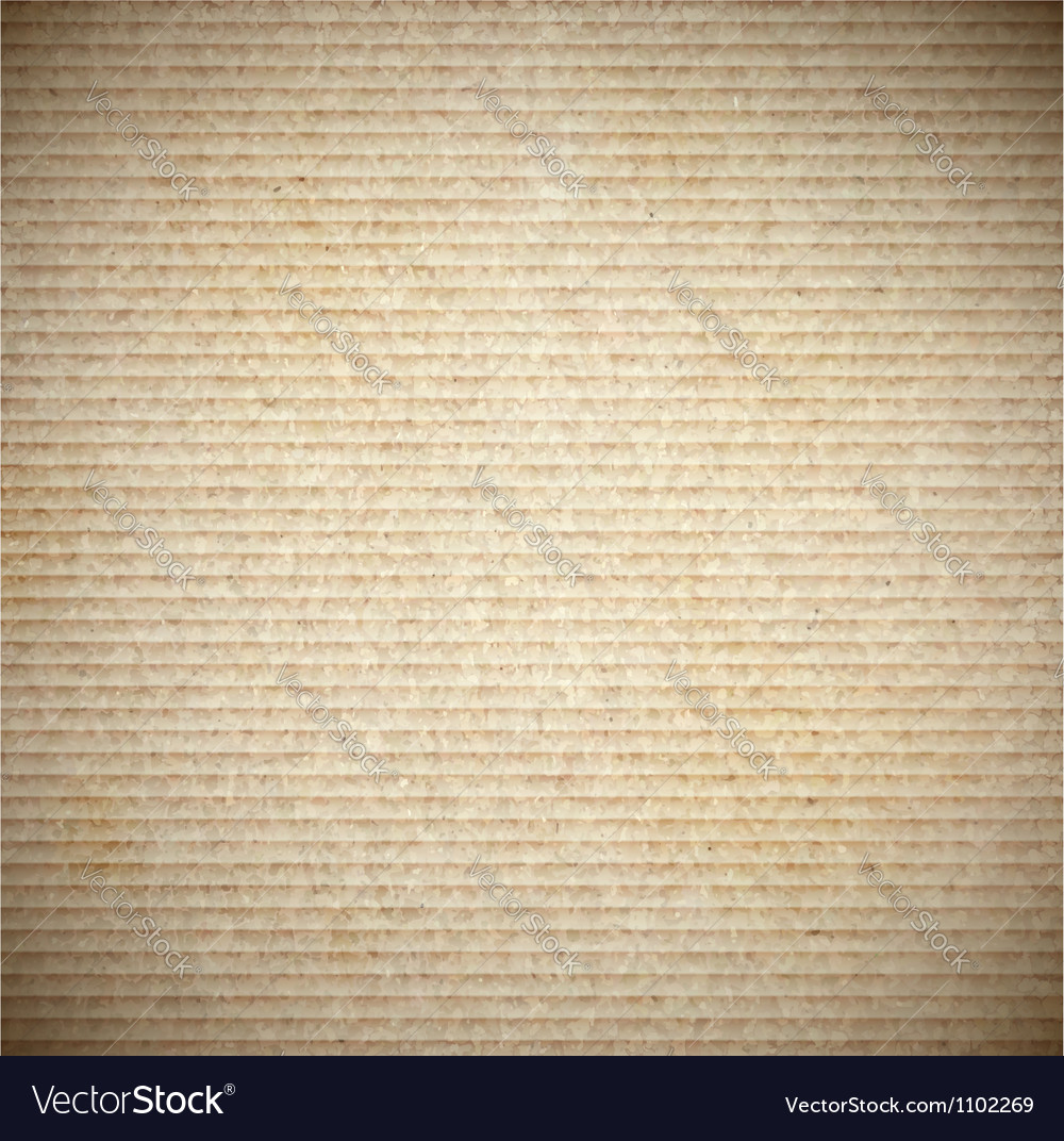 Background cardboard vector image