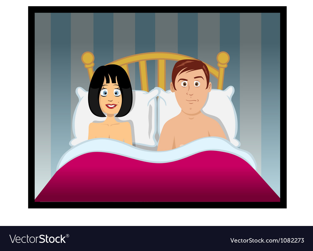 Sex bedroom vector image