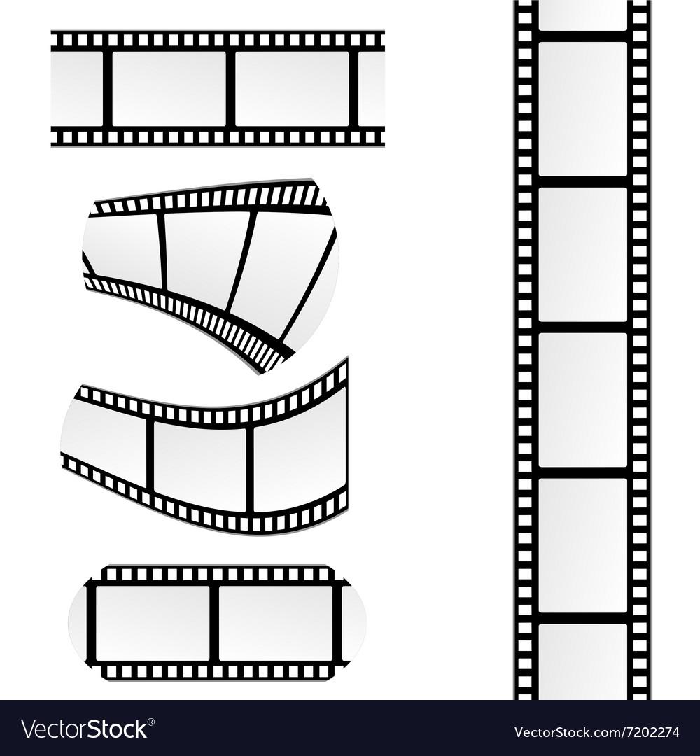 Film tape vector image