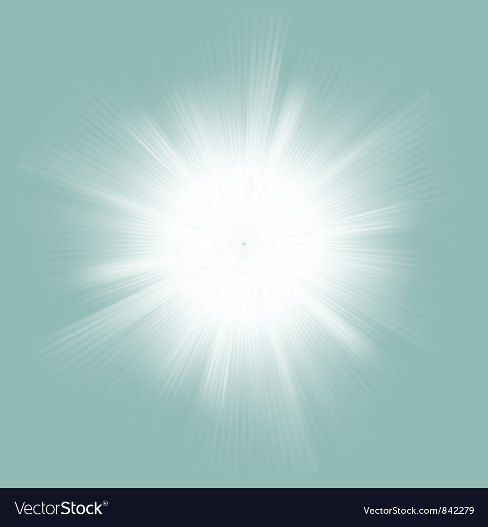 Elegant design burst vector image