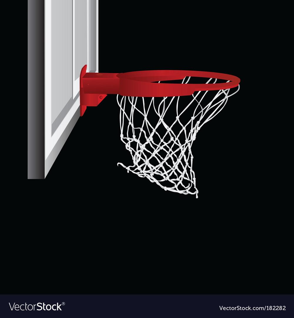 Basketball hop vector image