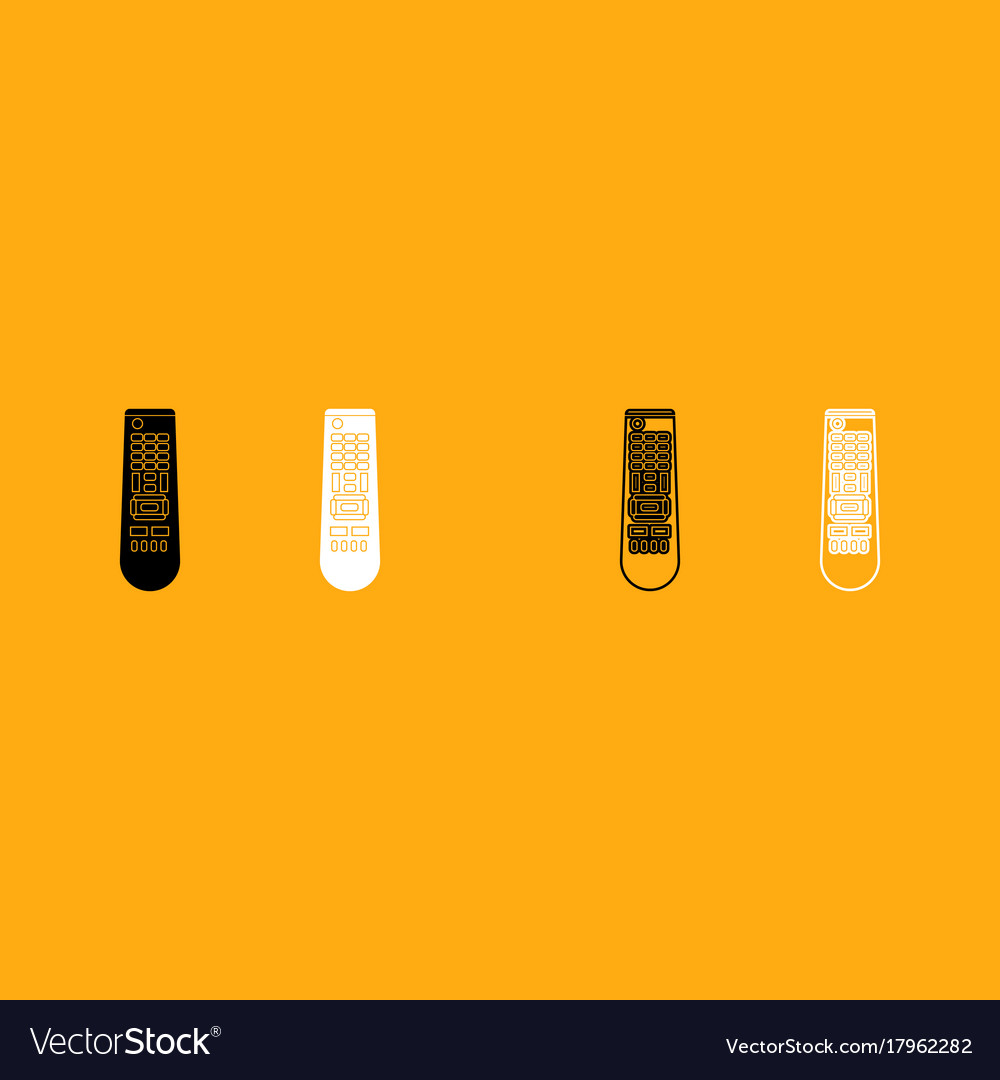 Remote control panel it is white icon vector image