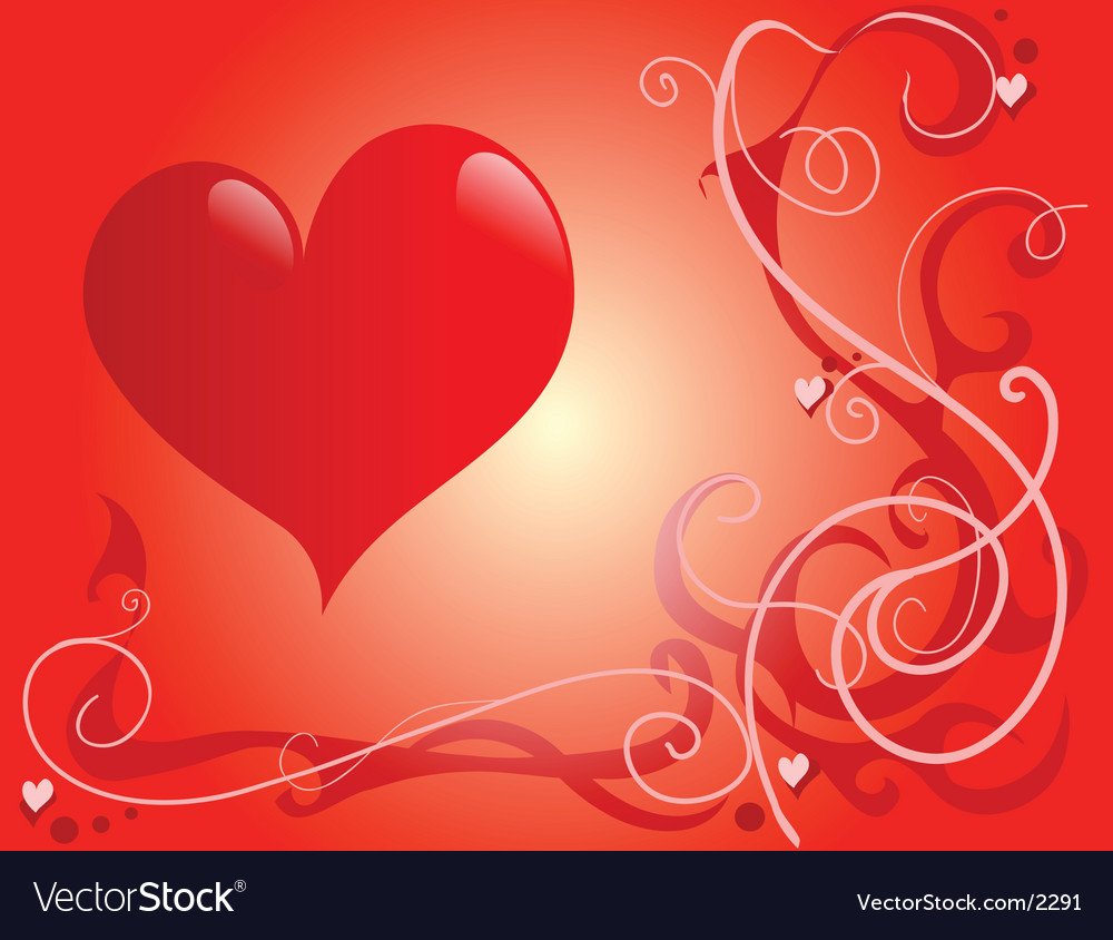 St valentines vector image