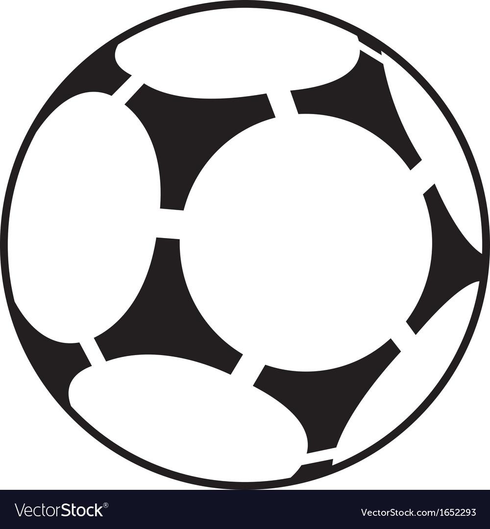 Soccer ball Royalty Free Vector Image - VectorStock