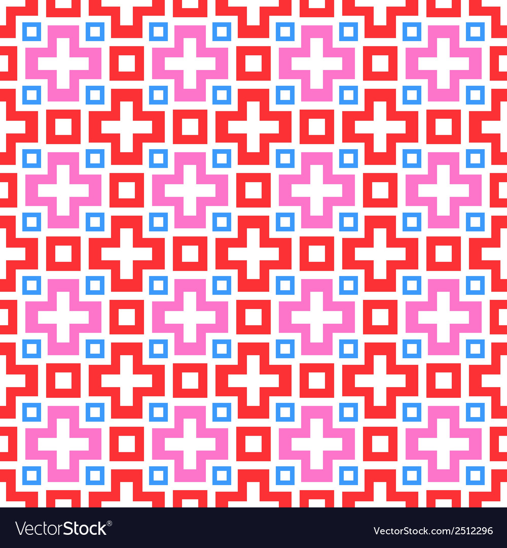 Abstract vivid seamless pattern tiling Royalty Free Vector